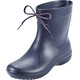 Crocs Freesail Shorty Rain Boots Women Navy